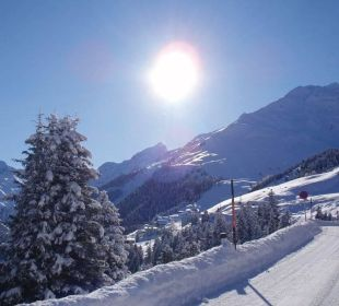 Winter- Wunderland Alpengasthof Pension Praxmar