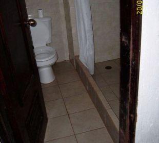 Bad mit Schimmel Hotel Pueblo Caribe