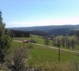Ausblick von der Terrasse Sporthotel Sonnhalde