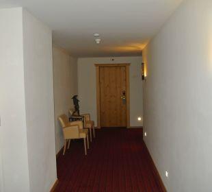 Flur Hotel Taubers Unterwirt