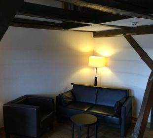 Blick ins Zimmer Hotel Schloss Waldeck