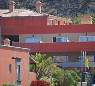 Hotel-Eingang Aparthotel El Cerrito