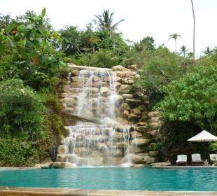 Der große Wasserfall