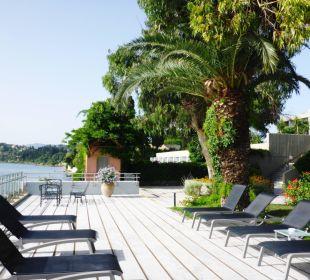 Wunderbar um abends noch etwas zu chillen. Kontokali Bay Resort & Spa