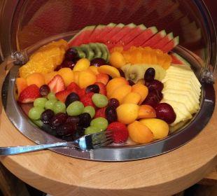 Frisches Obst am Frühstücksbuffet Hotel Nussbaumhof