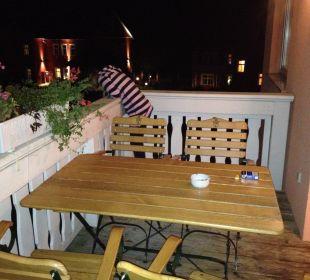 Balkon Ferienpark Bodetal