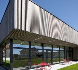 Seminarhaus/Neubau Gartenansicht Hotel am See