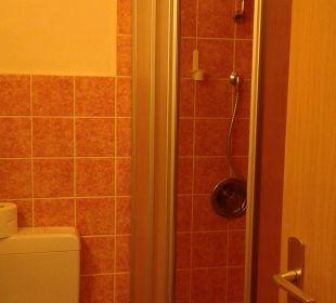 Bad mit Dusche Hotel Bockelmann