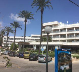 Außenansicht Hotel Serrano Palace