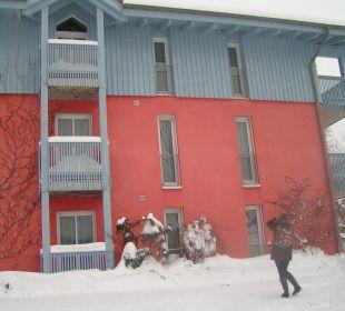 Haus mit den Fewos Landhaus Korte