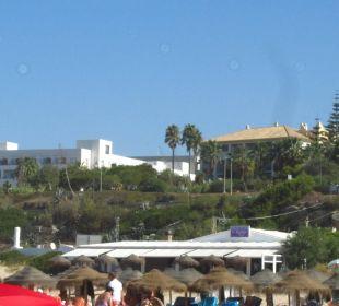 Bilick vom Strand auf das Hotel Fuerte Conil & Costa Luz Resort