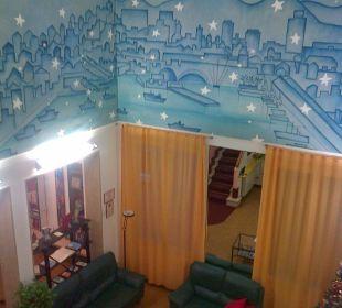 Atrio di ingresso Hotel Cairoli