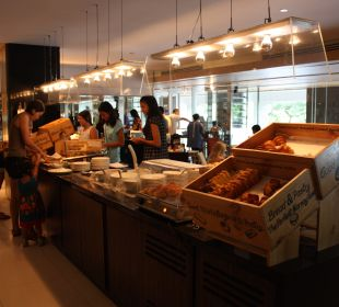 Brot, Brötchen und süße Sachen Pathumwan Princess Hotel