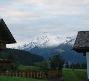 Aus meinem Zimmer Hotel Alpin Spa Tuxerhof