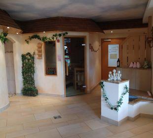 Schöner Saunabereich Landhotel Talblick