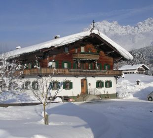 Winter am Harasshof Biobauernhof Harassen