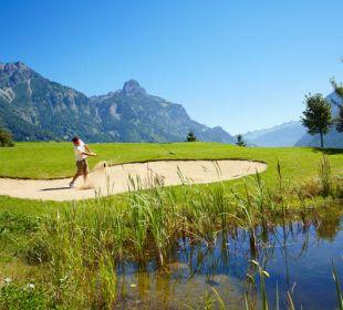 Golfspiel © Golfclub Bludenz Braz Traube Braz Alpen.Spa.Golf.Hotel