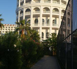 Eingang von Strandseite Hotel Defne Defnem