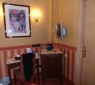 Schreibtisch Hotel Tritone Venice Mestre