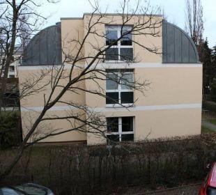 Blick aus dem Zimmerfenster Businesshotel Berlin