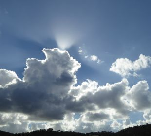 Sonne hinter Wolken Olimarotel Gran Camp de Mar