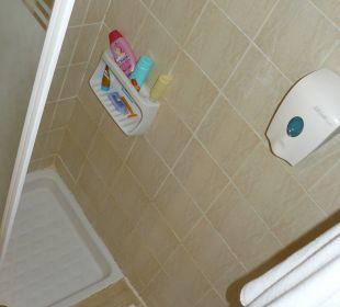 Sehr kleine Dusche