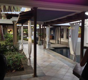 Eingangsbereiech Paradise Cove Boutique Hotel