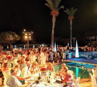 Sterne Dinner am Pool  Club Aldiana Zypern