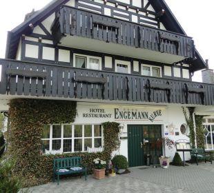 Hoteleingang Hotel Engemann Kurve