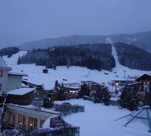 Von unserem Balkon auf Grubigstein Leading Family Hotel & Resort Alpenrose