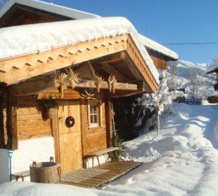 Im Winter Wörglerhof Alpbacher Hüttenappartements & Saunaalm