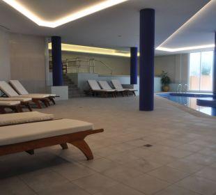 Hallenbad/Piscina cubierta/ Hydromassagebadewannne Hotel Don Antonio