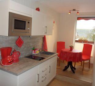 Suite -  Küche neu Gästehaus Linde