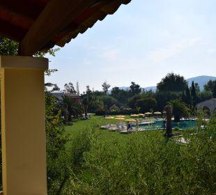 Blick von unserem zweiten Balkon Hotel St. George's Bay Country Club