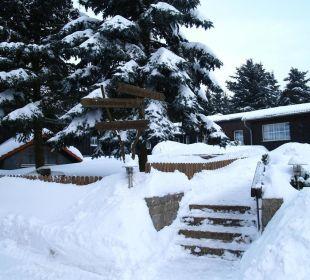 Winter Gasthof Brauner Hirsch Sophienhof