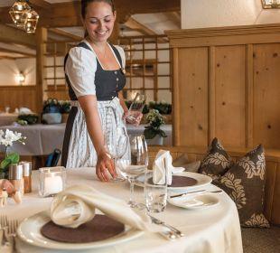 Impression aus dem Restaurant. Romantik Hotel Hornberg