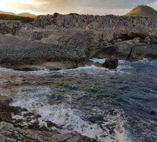 Bucht gegenüber des Hotels Hotel & Spa S'Entrador Playa