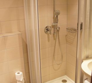 Dusche Zimmer 51 Seehotel Rust