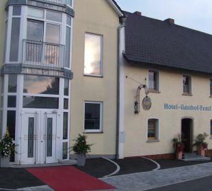 Vorderansicht  Hotel Gasthof Fenzl