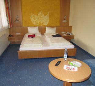 Unser Zimmer  Hotel Gundolf