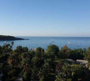 Blick vom Balkon zum Meer Lycus Beach Hotel