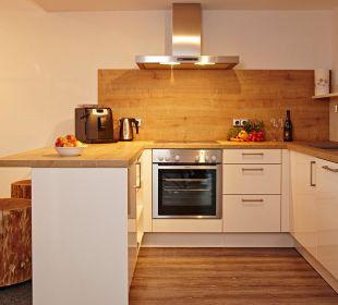 Küche FeWo Siebenschläfer Schwandenhof Ferienwohnungen