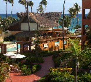 Blick vom Balkon VIK Hotel Cayena Beach Club