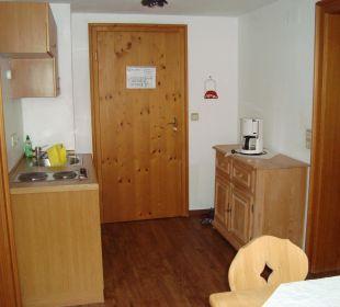 Küche im App. 43 Hotel Mühlenhof