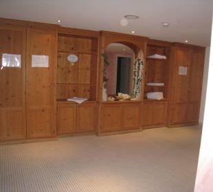 Wellnessbereich Hotel Donnerhof