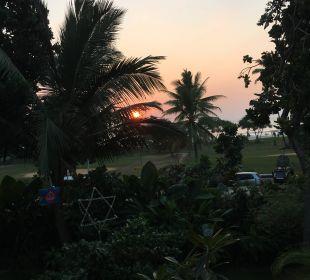 Sonnenuntergang Hotel Susantha Garden