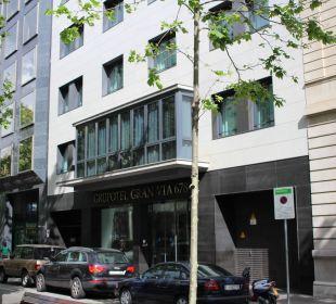 Hotel-Vorderfront / Eingang Grupotel Gran Via 678