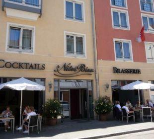 Terrasse Bar & Brasserie NitriBizz Hotel Holiday Inn Nürnberg City Centre