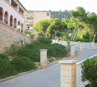 Weg zum Gästehaus 2 Hotel Don Antonio