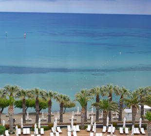 Ausblick Sani Beach